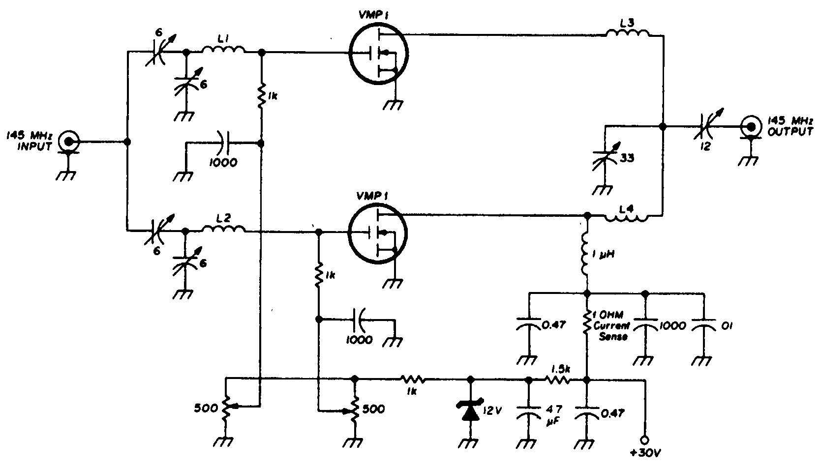 Ам передатчик на транзисторах схема