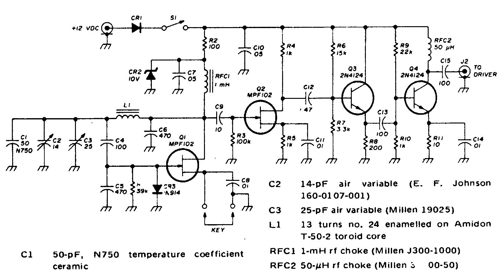 схема изготовления жучка дальностью 500 метров